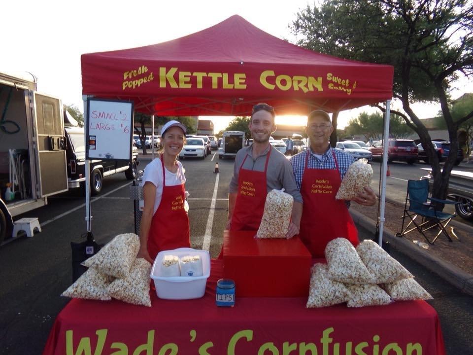 Wade's Cornfusion Kettle Corn - Tucson - Roaming Hunger